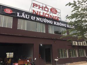 Thi công xây lắp nhà hàng lẩu Hương-Hoài Đức- Hà Nội
